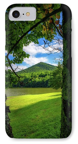 Sharp Top Through The Trees IPhone Case