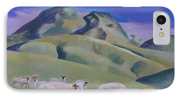 Sheep At Sutter Buttes IPhone Case