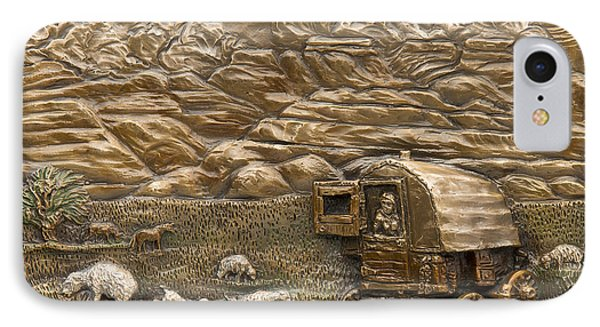 Sheep Herder's Wagon IPhone Case