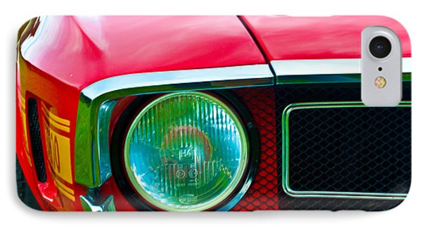 Red Shelby Mustang IPhone Case