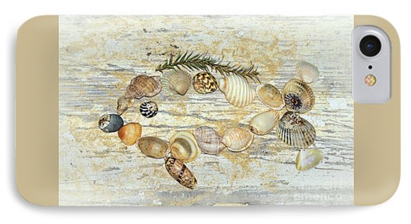 IPhone Case featuring the photograph Shell Fish By Kaye Menner by Kaye Menner