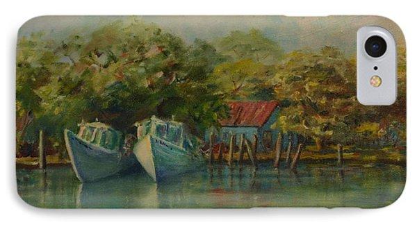 Shem Creek Boats IPhone Case