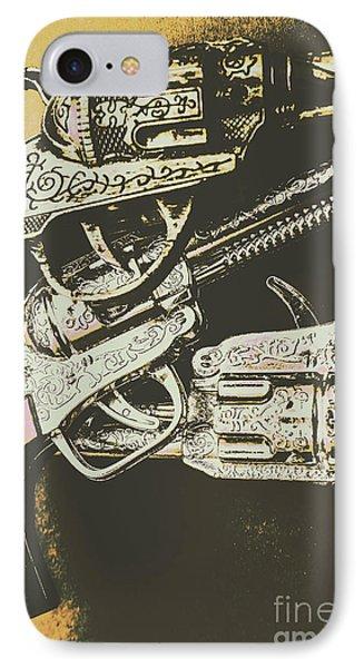 Sheriff Guns IPhone Case