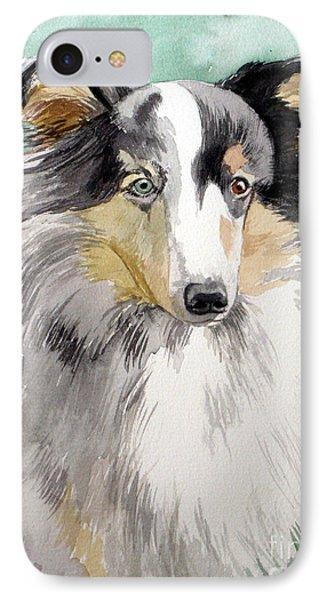 Shetland Sheep Dog IPhone Case