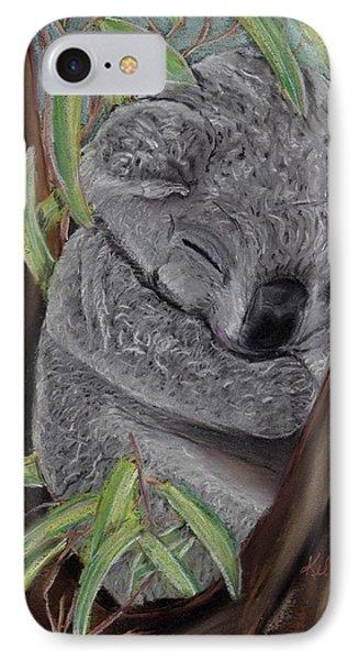 Shhhhh Koala Bear Sleeping IPhone Case