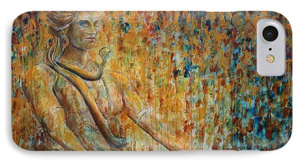 Shiva Meditation 2 IPhone Case