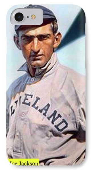 Shoeless Joe Jackson, Cleveland Naps IPhone Case