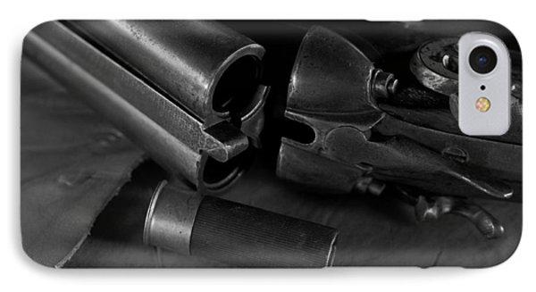 Shotgun Black And White IPhone Case