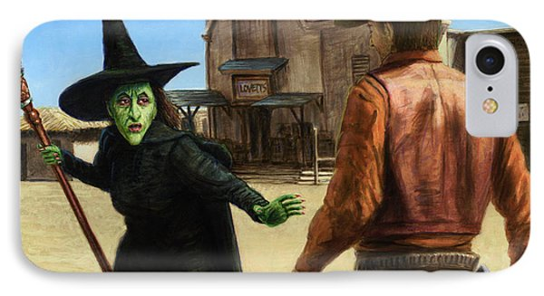 Wizard iPhone 8 Case - Showdown by James W Johnson