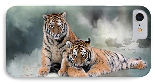 Siberian Twins IPhone Case