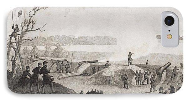 Siege Of Yorktown Virginia 1862. Drawn IPhone Case