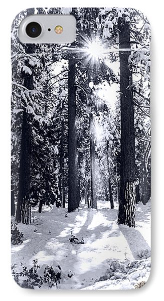 Sierra Forest Show IPhone Case