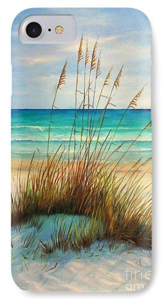 Sea iPhone 8 Case - Siesta Key Beach Dunes  by Gabriela Valencia