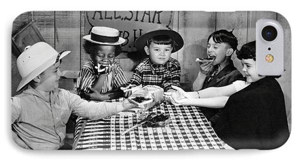 Silent Film: Little Rascals IPhone Case