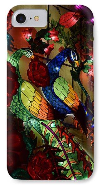 Silk Peacocks IPhone Case