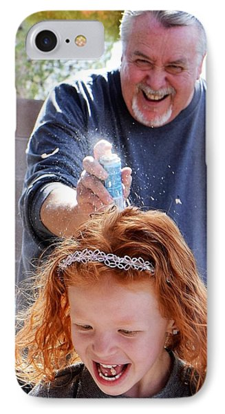 Silly String Attack IPhone Case