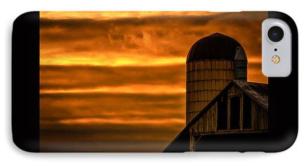 Silo Sunset IPhone Case