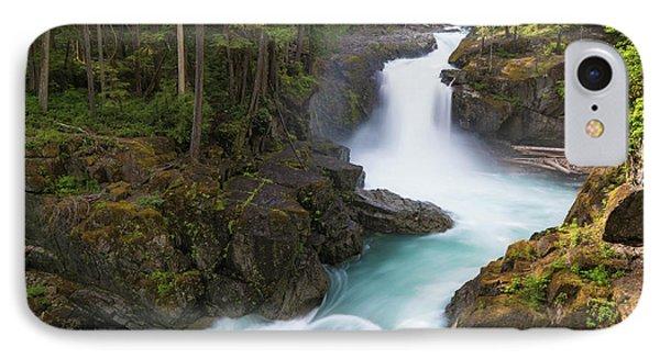 Silver Falls Washington IPhone Case