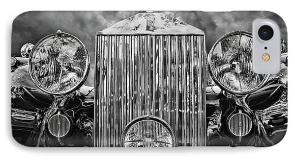 Silver Rolls Royce IPhone Case