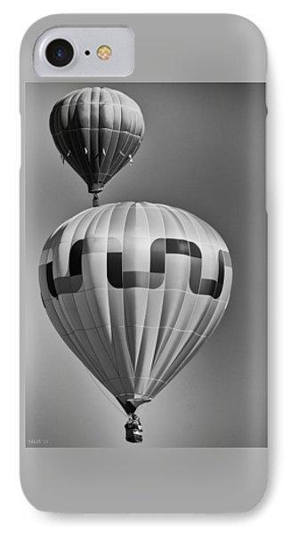 Silver Sky Balloons IPhone Case