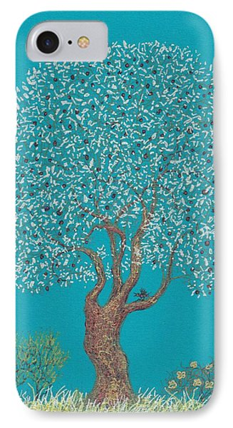 Silver Tree IPhone Case