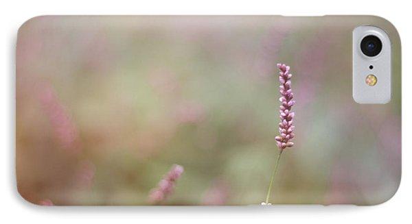 Single Wild Flower IPhone Case