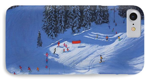 Ski School Morzine IPhone Case