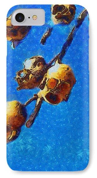 Skull Flower - Da IPhone Case