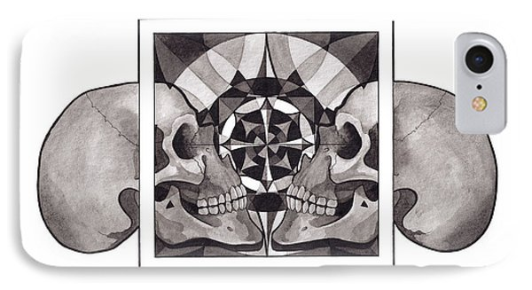 Skull Mandala Series Nr 1 IPhone Case