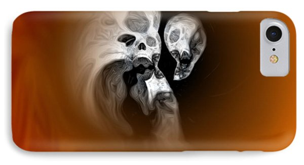Skull Scope 2 IPhone Case