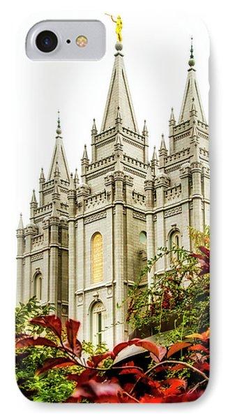 Slc Temple Angle IPhone Case