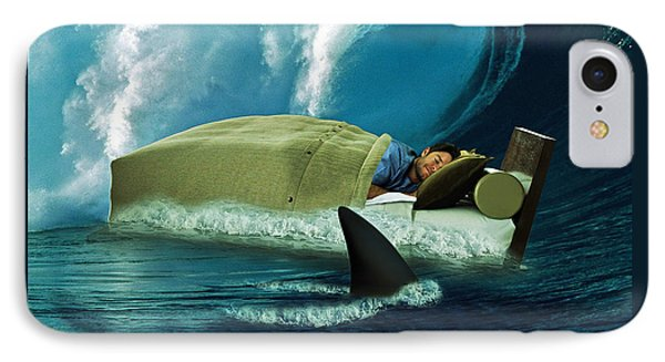 Sleeping With Sharks IPhone Case