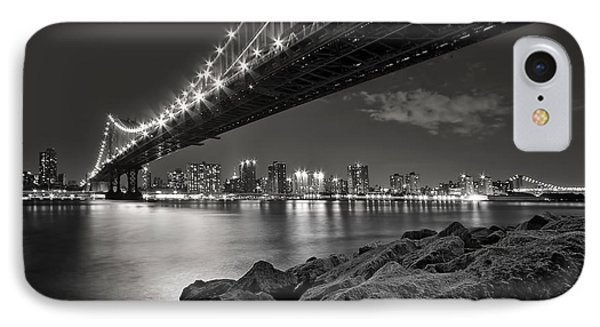 Sleepless Nights And City Lights IPhone Case