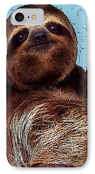 Sloth Pop Art IPhone Case