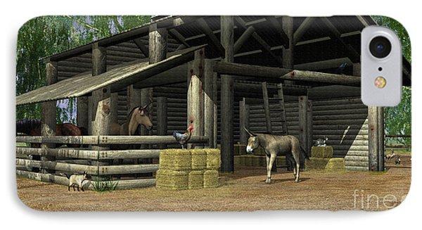 Small Barn IPhone Case