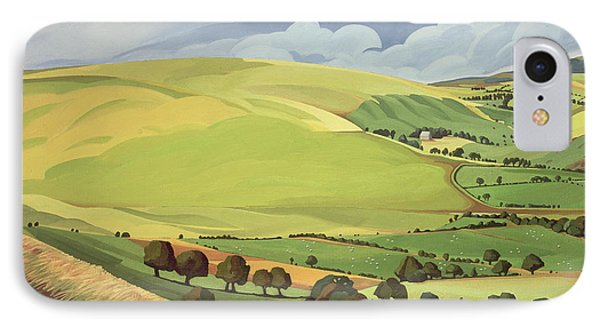 Small Green Valley IPhone Case