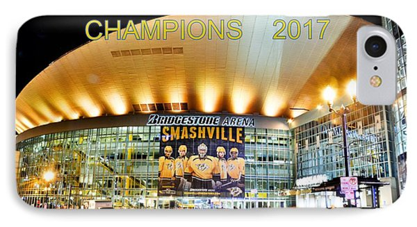 Smashville Western Conference Champions 2017 IPhone Case
