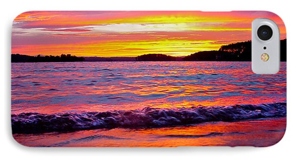 Smith Mountain Lake Surreal Sunset IPhone Case