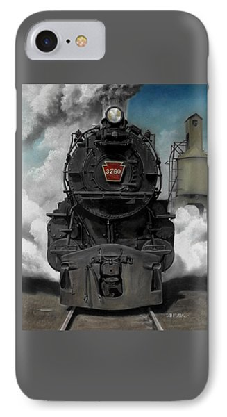 Transportation iPhone 8 Case - Smoke And Steam by David Mittner