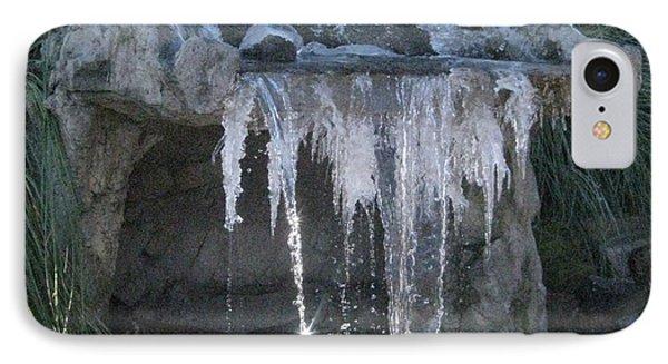 Smokey Stoves Frozen Falls IPhone Case