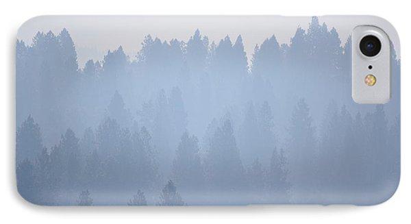 Smoky Pines IPhone Case