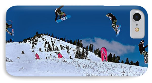 Snow Boarder IPhone Case