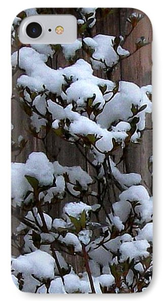 Snow Bush Abstract IPhone Case