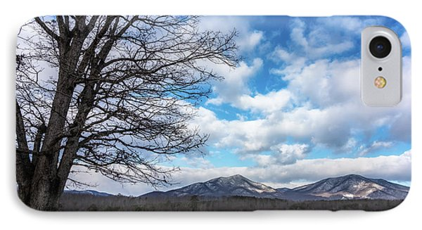 Snow In The High Mountains IPhone Case