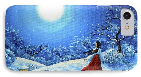 Snow Like Stars IPhone Case