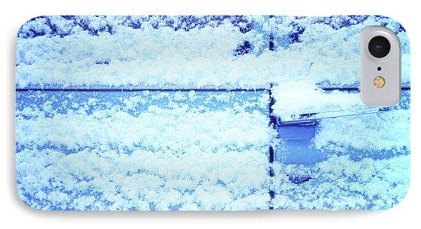 Snow Van 51 Chevy Panel IPhone Case