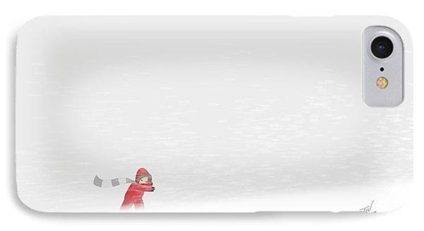 Snowboy IPhone Case
