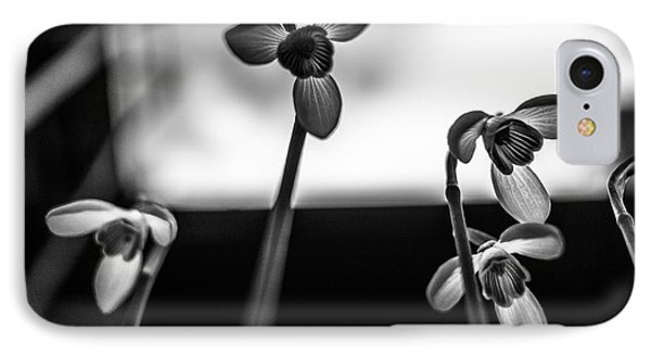 Snowdrops Standing Tall IPhone Case