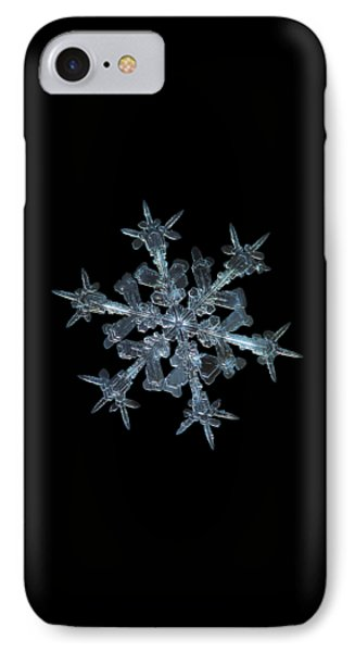 Snowflake Photo - Starlight IPhone Case