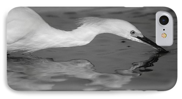 IPhone Case featuring the photograph Snowy Egret Illuminated by John F Tsumas